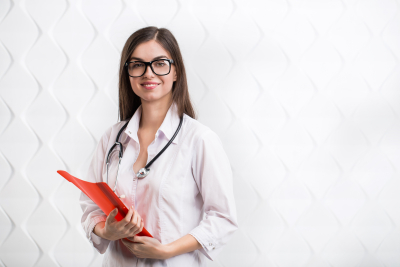 medical student girl